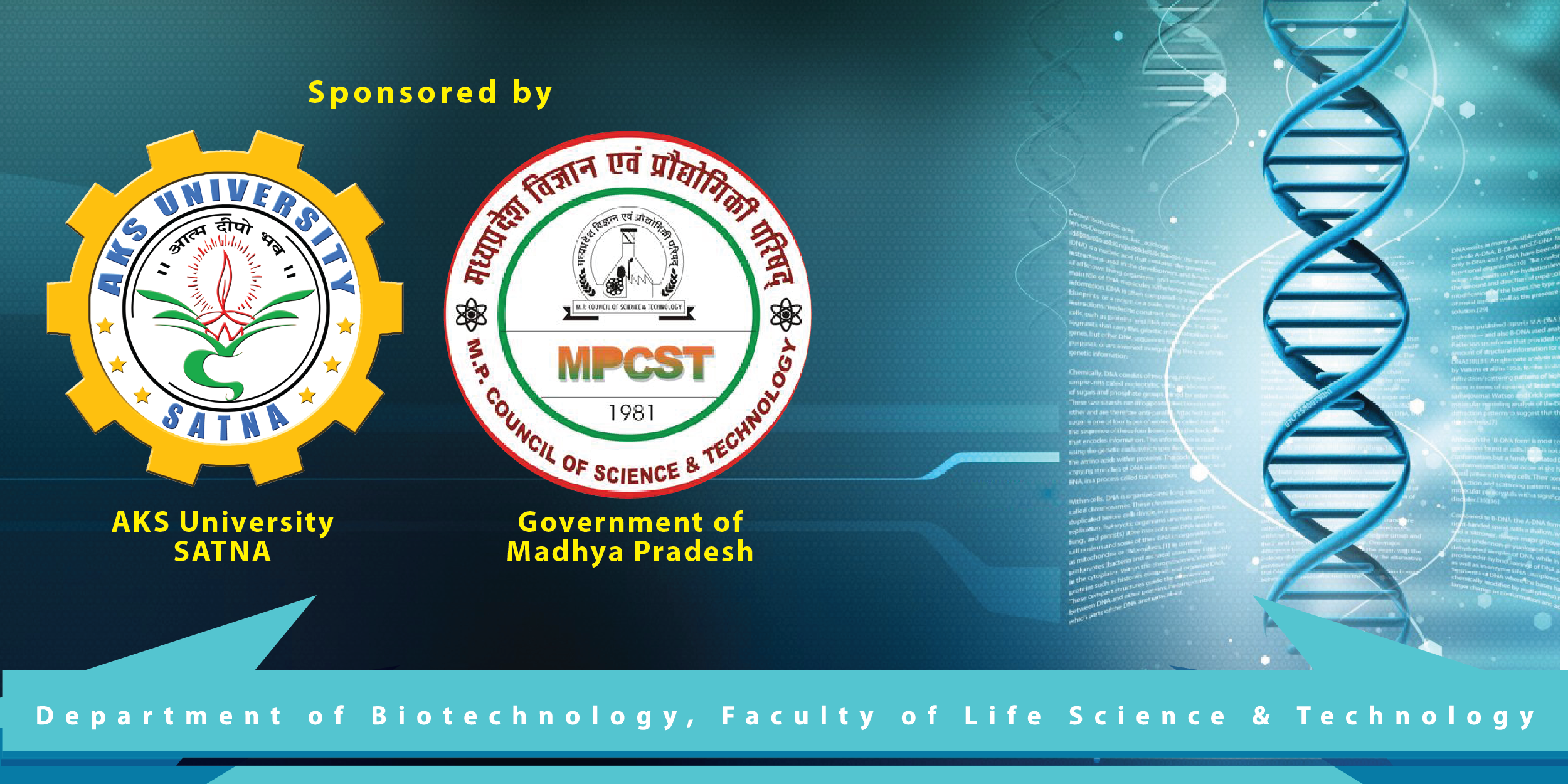 National Conference on Biotechnology and Sustainable